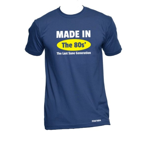Blue Made in the 80s'
